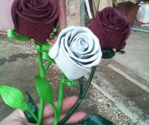 Покрашенные цветы