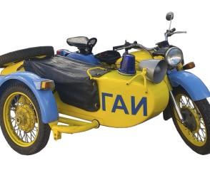 Ретро-мотоцикл